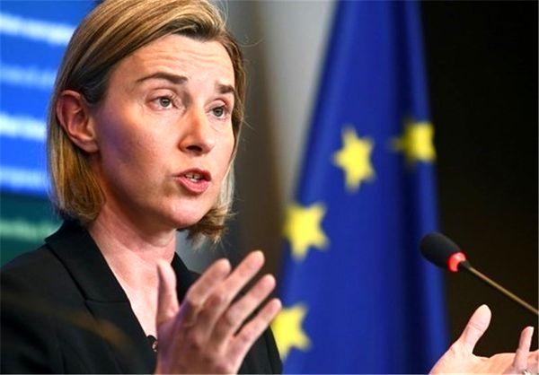 تأکید موگرینی بر حفظ برجام در آستانه نشست مشترک اتحادیه اروپا و آسیا