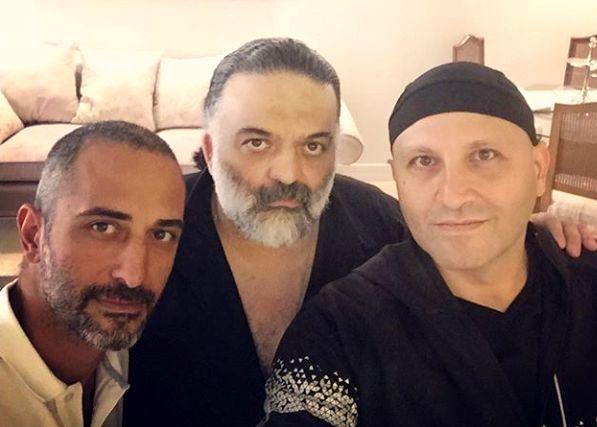 علیرضا عصار و دوستانش + عکس