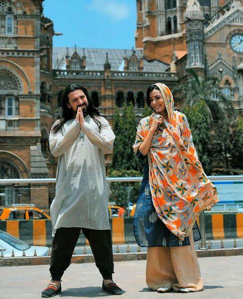عکس جنجالی  امیرعباس گلاب در هند