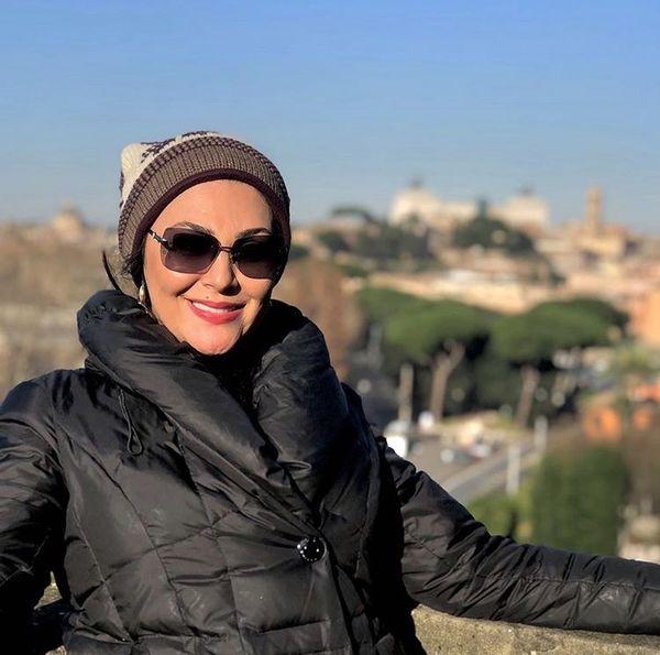 لاله اسکندری در خارج از کشور + عکس
