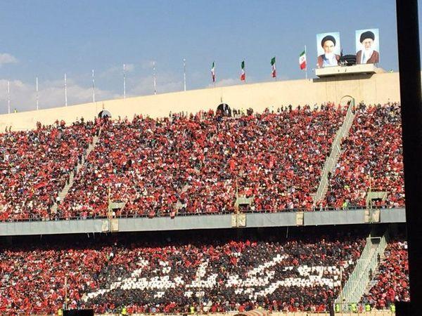 تسلیت هوادان ارتش سرخ به بشار رسن+ عکس