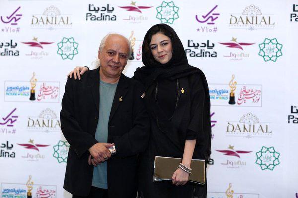 آقای کارگردان در کنار دختر بازیگرش+عکس