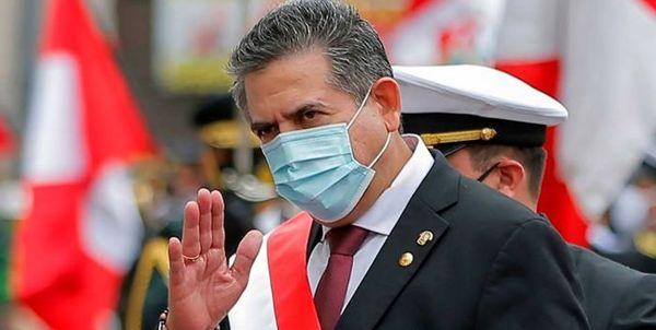 استعفا رئیس جمهور موقت پرو