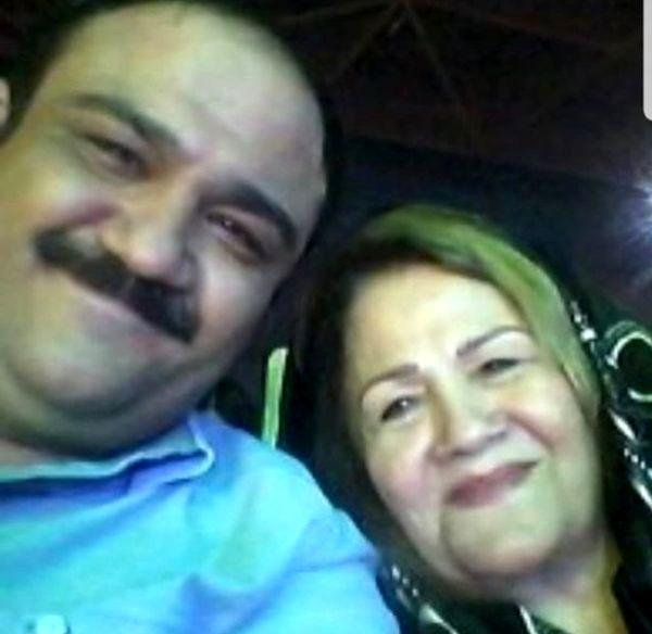 شباهت دیدنی مهران غفوریان و مادرش+عکس