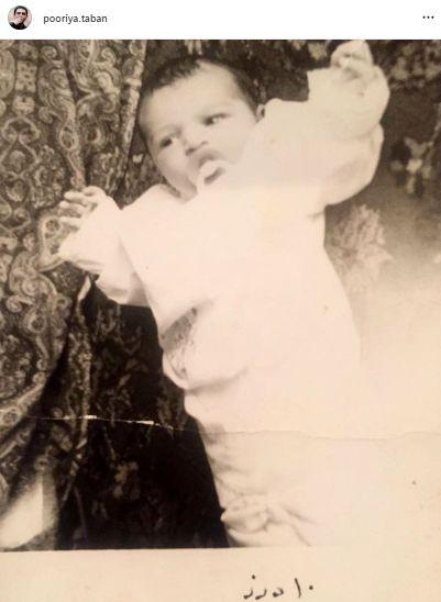 عکس نوزادی مجری سابق تلویزیون!
