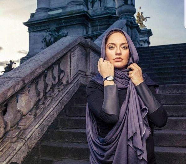 تیپ زیبای مهناز افشار در خارج از کشور+عکس
