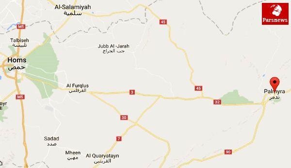 هلاکت بیش از 50 داعشی در تدمر و حمص