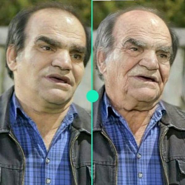 بازیگری که از پیری خودش بدش آمد+عکس