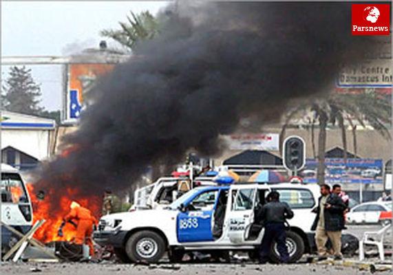 وقوع انفجار مهیب در مرکز بغداد