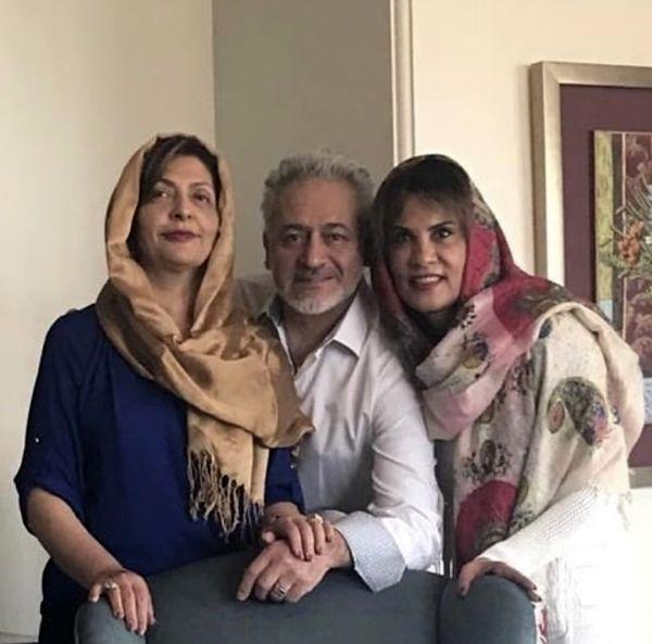 همسر وخواهر مجید مشیری + عکی