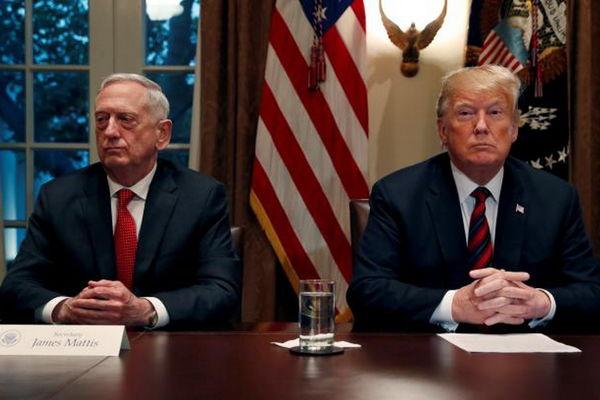 ترامپ:متیس به سوء استفاده کشورها از آمریکا بی توجه بود