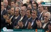 حافظخوانی «اردوغان» به زبان فارسی در حضور روحانی