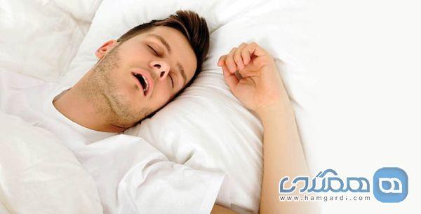 خوابیدن با دهان باز نشانه بیماری است؟