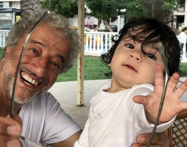 بابا پنجعلی در کنار دختر فهیمه + عکس