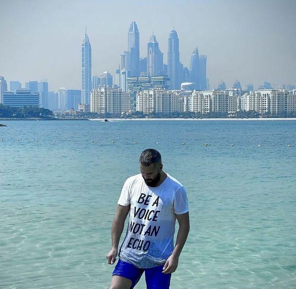 میلاد کی مرام در دبی + عکس