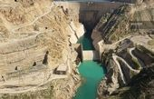 عکس/ افزایش کمسابقه حجم آب سد کارون۳