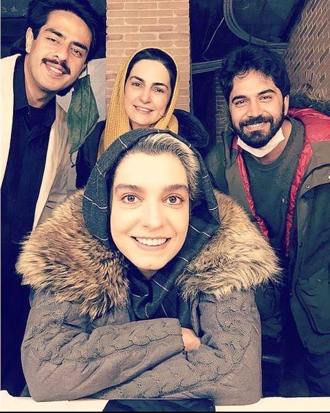 الیکا عبدالرزاقی و همکاران جدیدش + عکس