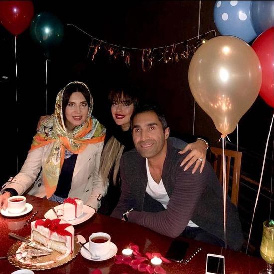 جشن تولد خصوصی ، هادی کاظمی سمانه پاکدل