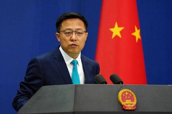 محکومکردن اقدامات واشنگتن توسط چین