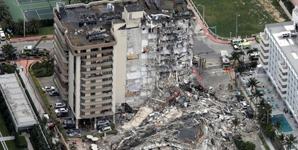 شمار اجساد پیدا شده ریزش ساختمان فلورید