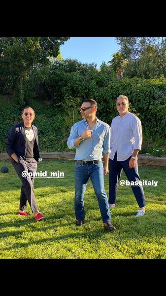 پیمانمعادی و دوستانش در خارج از کشور + عکس