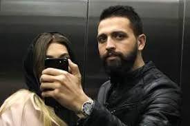 محسن افشانی به همراه همسرش سویل در یک نمایش /عکس