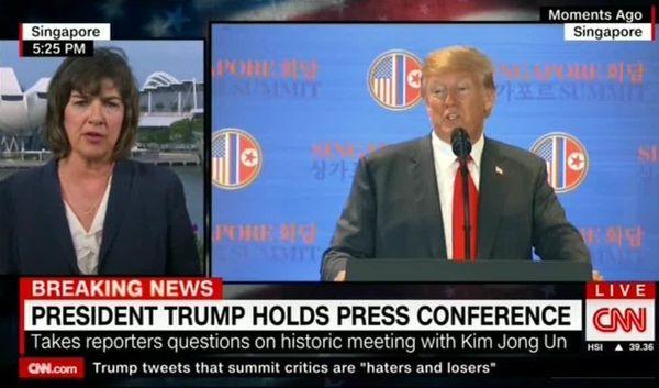 سخنان ترامپ بی ربط و غیر منسجم بود