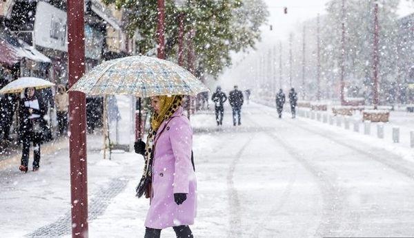 احتمال بارش برف در خوزستان