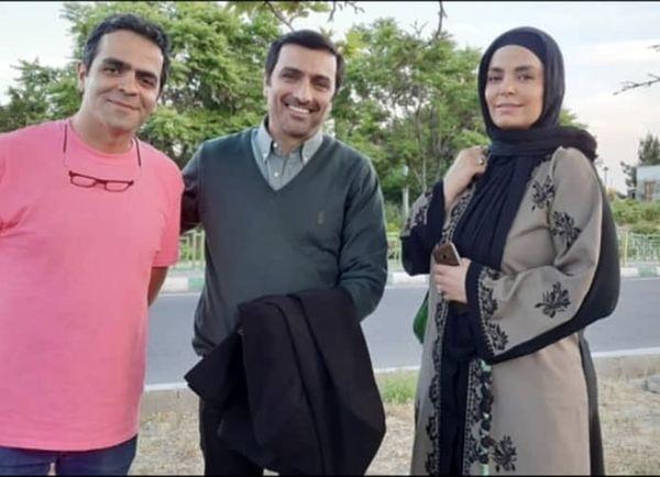 سپیده خداوردی و همسر خانم بازیگر در کنار هم + عکس