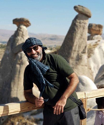منصور ضابطیان در سرزمینی باستانی از ترکیه+عکس