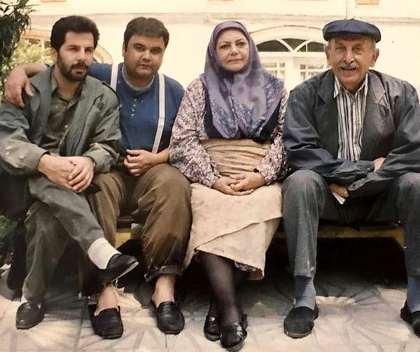 اکبر عبدی و بازیگران مرحومتحفههند + عکس