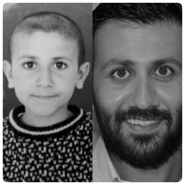 عکس چشم گرد آقای بازیگر در کودکی