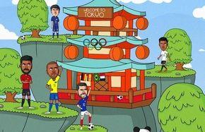 دیدار بزرگان فوتبال این بار در ژاپن!