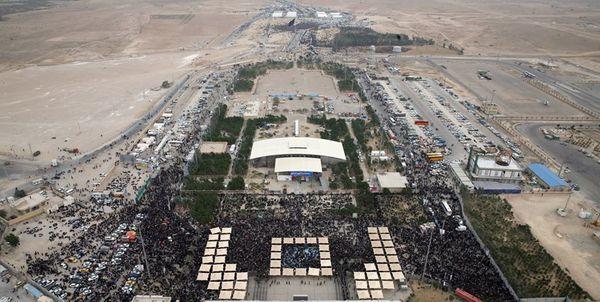 مرز مهران برای تردد مناسب نیست+فیلم و عکس