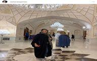 گردش روشنک عجمیان در ایران مال+عکس