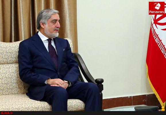 رییس اجرایی دولت وحدت ملی افغانستان وارد تهران شد