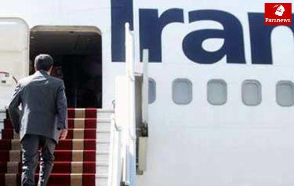 احمدی نژاد راهی ونزوئلا شد