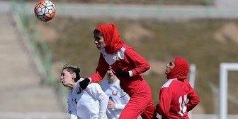 برتری تیم فوتبال زنان بلاروس مقابل زنان ایران