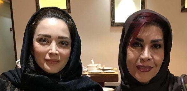 الهام صفوی زاده در کنار بهنوش طباطبایی/عکس