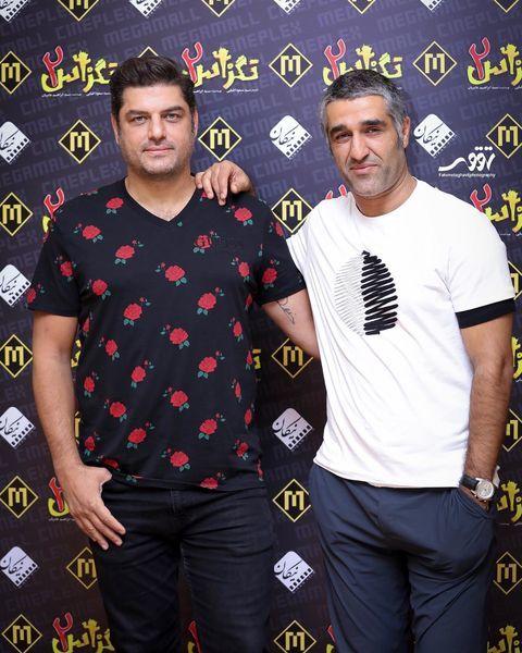 زوج کمدی مشهور با تی شرت های متفاوتشون + عکس