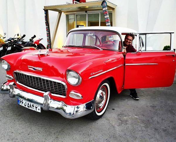 ماشین مدل قدیمی سام نوری + عکس