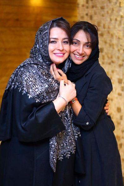 عکس مهربان همسر امین حیایی و مهراوه شریفی نیا