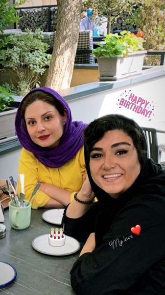 سولماز غنی و باران کوثری در کافه + عکس