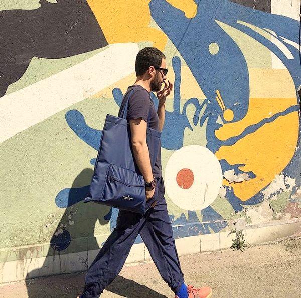 استایل جدید نوید محمد زاده در خیابان + عکس