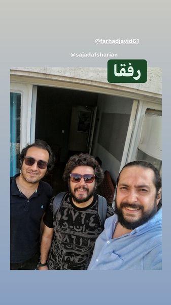 مهران رنجبر و رفقاش + عکس