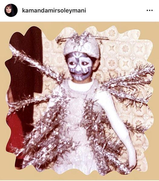 تئاتر متفاوت کمند امیرسلیمانی در کودکی + عکس