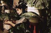 حال خوب خانم بازیگر با گلدان هایش + عکس