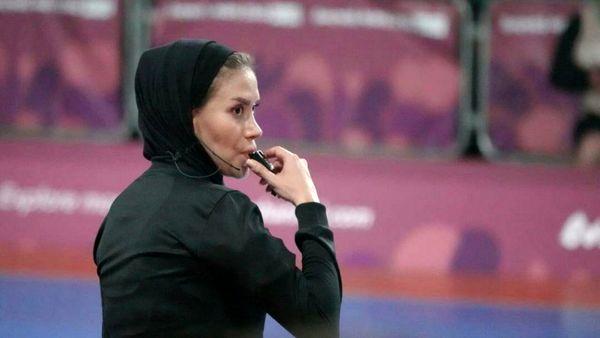 اتفاق باورنکردنی برای داور زن ایرانی