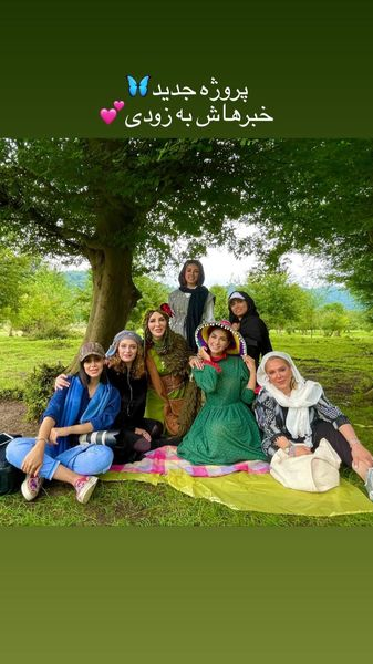 پروزه کاری جدید خانم بازیگر + عکس