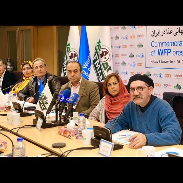 حمید جبلی و مجید مظفری در برنامه جهانی غذا+عکس